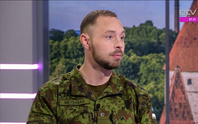 Maj. Deniss Metsavas is suspected of having passed state secrets to Russian military intelligence.