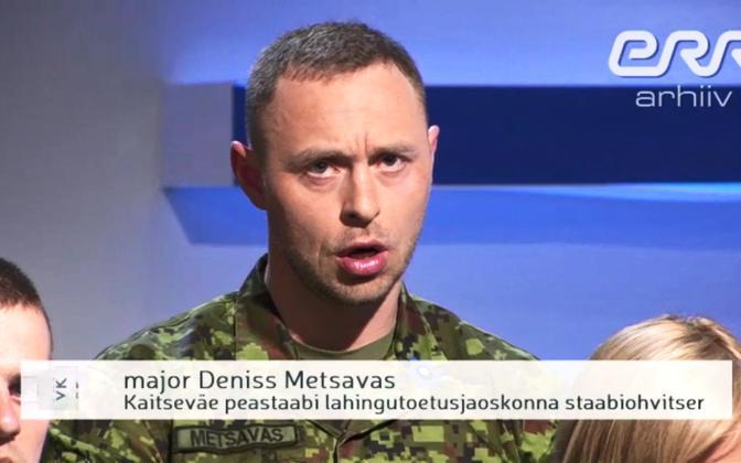 Deniss Metsavas appearing in the a 2016 episode of talk show 'Vabariigi Kodanike'.