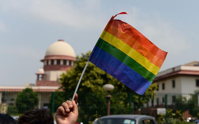 ЛГБТ. Иллюстративная фотография.