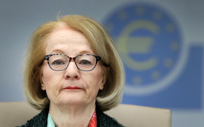 Euroopa Keskpanga (ECB) järelevalvejuht Danièle Nouy.