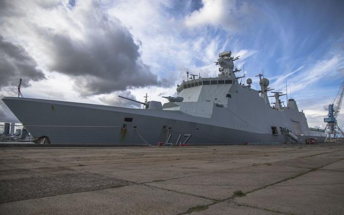 NATO 1. alalise mereväegrupi ja Baltroni sõjalaevad Eestis 2018. aasta septembris..