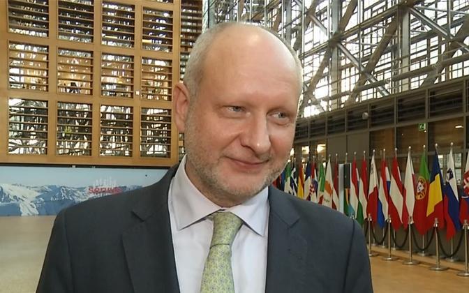 Deputy Minister for EU Affairs Matti Maasikas.