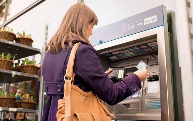 A Danske Bank ATM. Photo is illustrative.