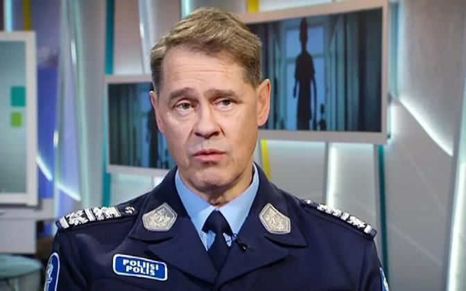 Soome politsei juht Seppo Kolehmainen.
