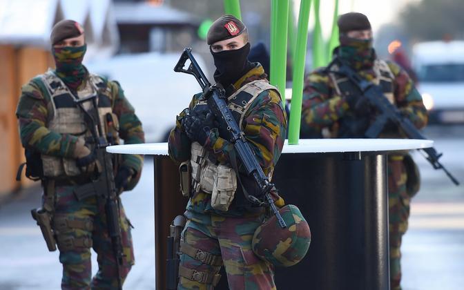Belgia sõdurid.