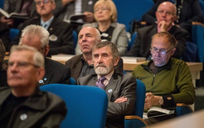 The 30th anniversary of the Estonian Popular Front was marked with an event held at the Estonian National Library in Tallinn on Sunday. 30 September 2018.