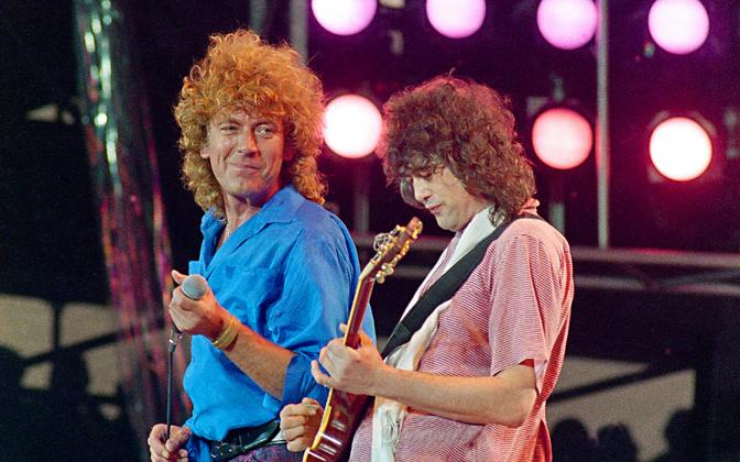 Led Zeppelin 1985. aastal