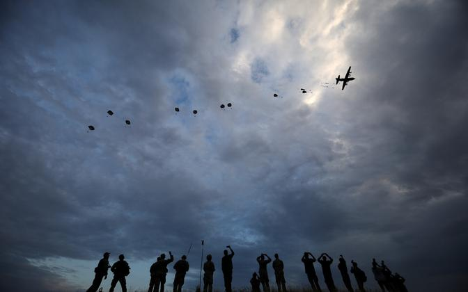 NATO õppus Swift Response 2017. aastal