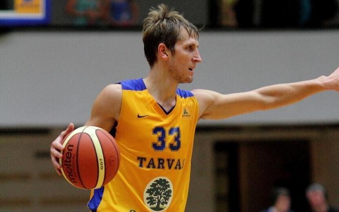 Kristo Saage 2013. aastal Rakvere Tarvase eest mängimas