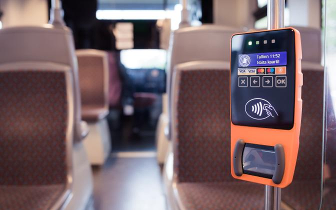 The public transport systems in Tallinn and Tartu both accept touchless card payments.