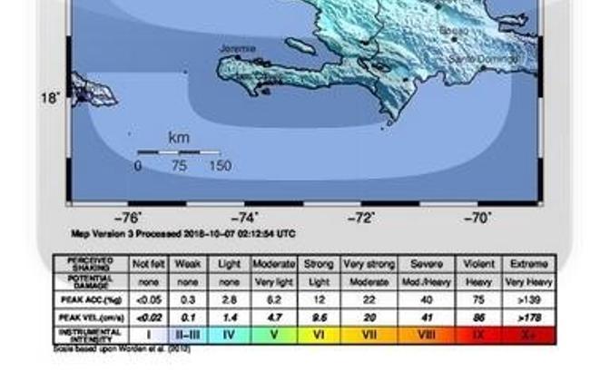 Haiti maavärin.