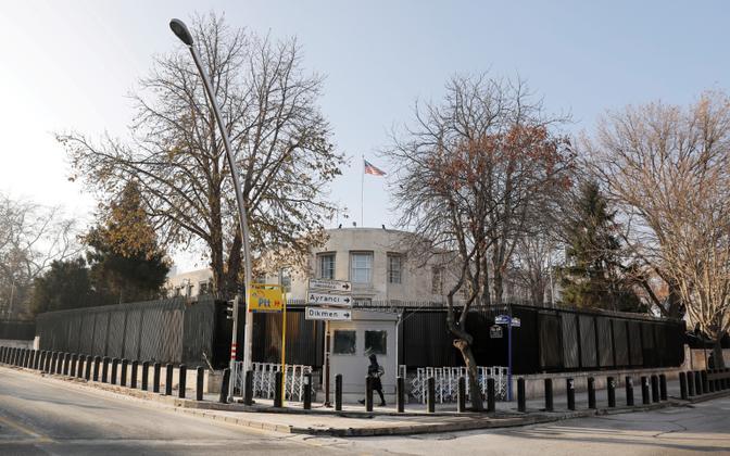 USA saatkond Ankaras.