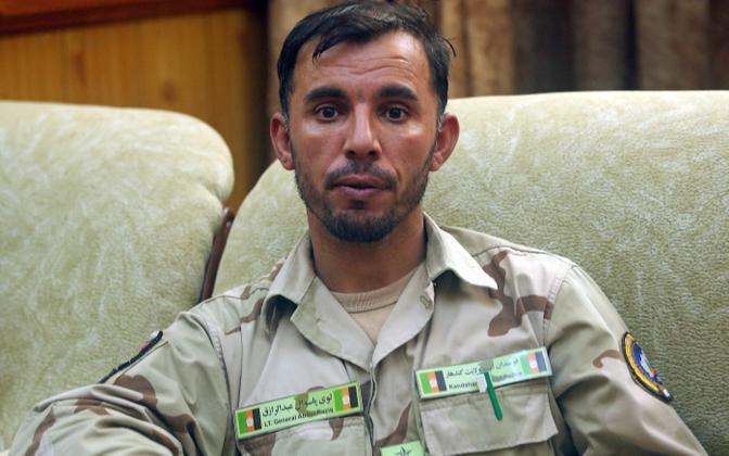 Rünnakus hukkunud kindral Abdul Raziq.