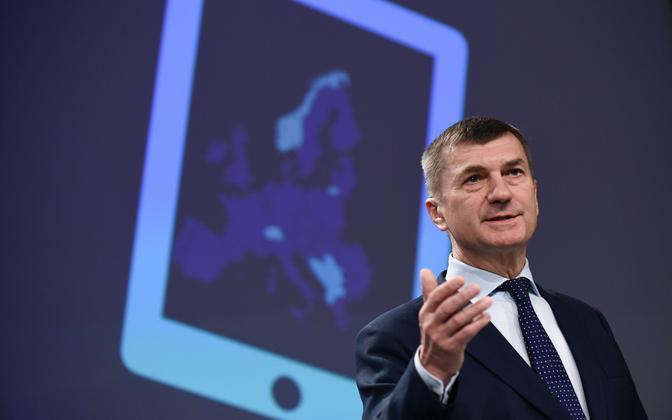 Euroopa Komisjoni asepresident Andrus Ansip.