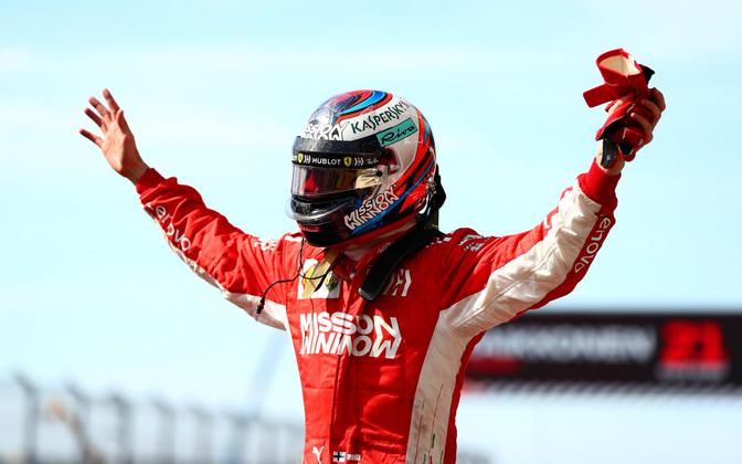 Kimi Räikkönen (Ferrari) USA GP-l