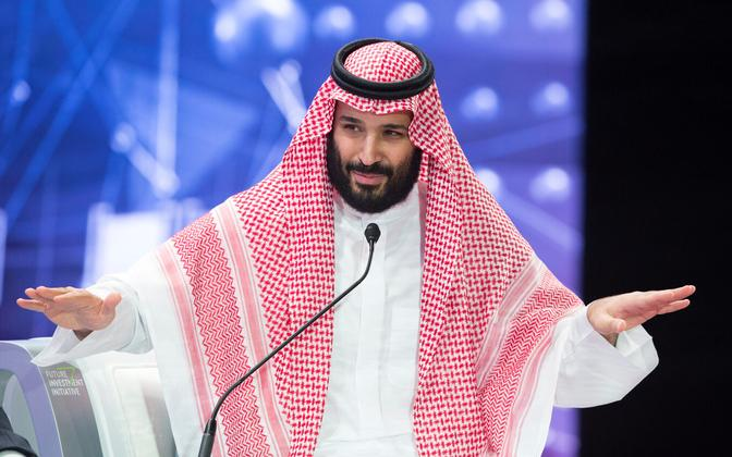 Saudi Araabia kroonprints Mohammed bin Salman.