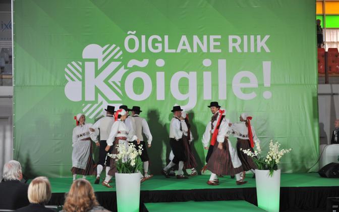 Centre's party congress in Pärnu in November.