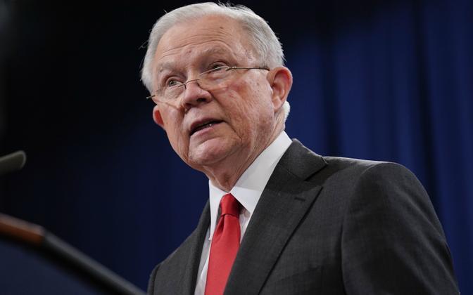 Jeff Sessions teatas justiitsministri ametist lahkumisest.