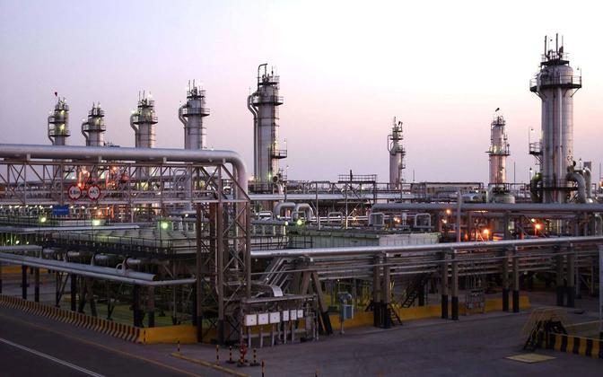 Nafta tootmine Saudi Araabias.