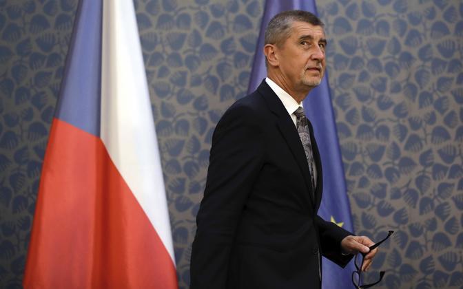 Tšehhi peaminister Andrej Babiš.