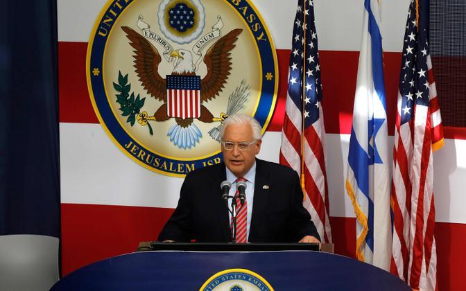 USA suursaadik Iisraelis David Friedman.
