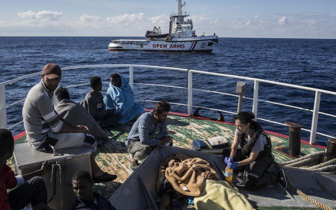 Migrandid Vahemerel Nuestra Madre de Loreto pardal.