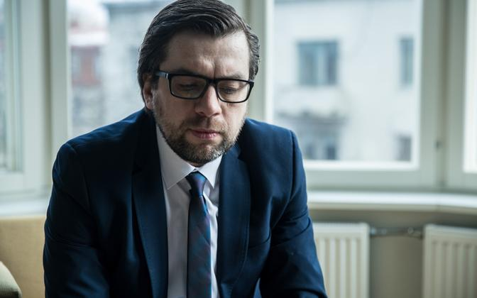 Kert Valdaru, former Reform Party Secretary-General.