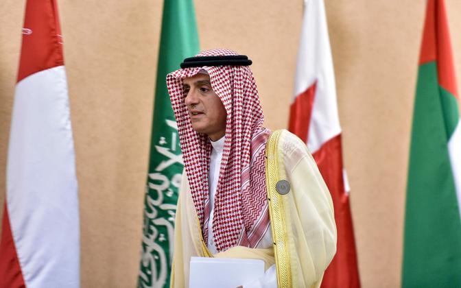 Saudi Araabia välisminister Adel al-Jubeir.