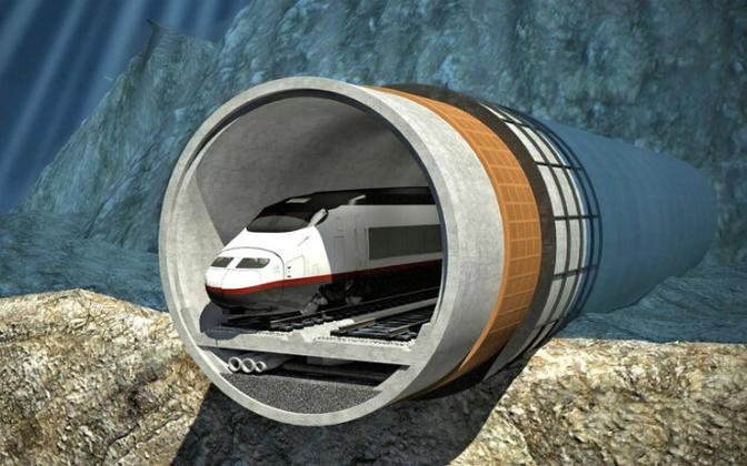 The Tallinn-Helsinki tunnel is projected to cost €15 billion in total.