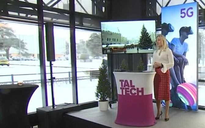 TalTech is now home to the first 5G pilot in Estonia.