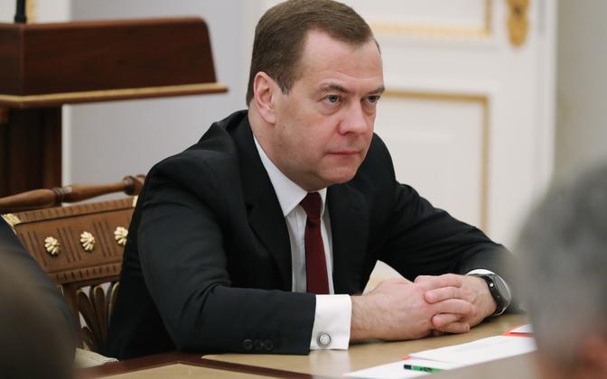 Dmitri Medvedev.