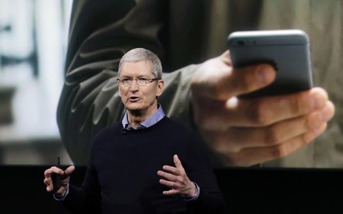 Apple'i tegevjuht Tim Cook.