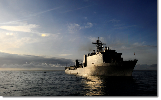 USS Fort McHenry.