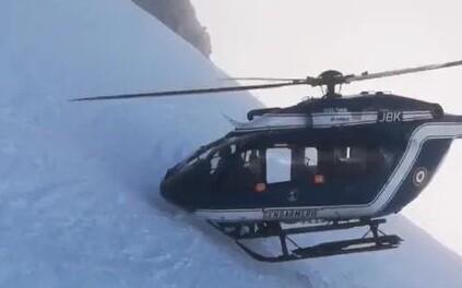 Päästeoperatsioon Prantsuse Alpides.