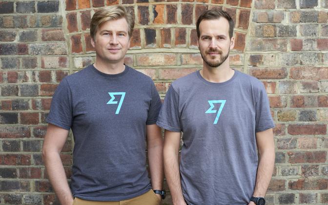 TransferWise founders Kristo Käärmann and Taavet Hinrikus.