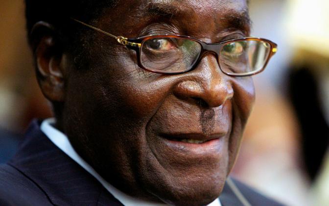 Robert Mugabe 2008. aastal.