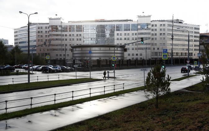 GRU hoone Moskvas.
