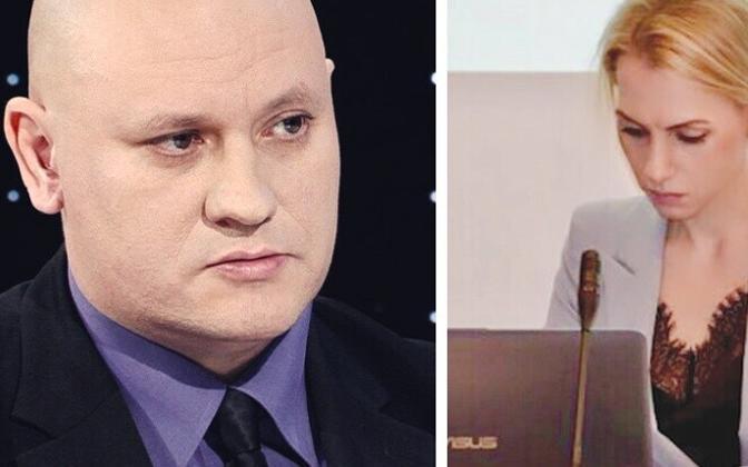 Мстислав Русаков и Юлия Соммер.