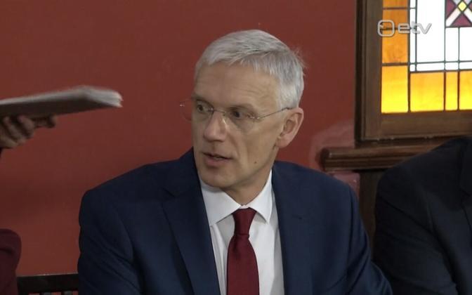 Läti peaminister Krišjānis Kariņš