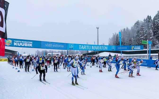 Eelmise aasta Tartu Teatemaratoni start