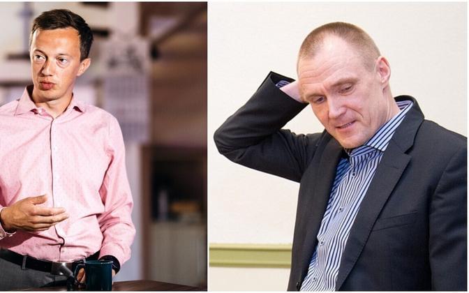 Andreas Kaju ja Hardo pajula.