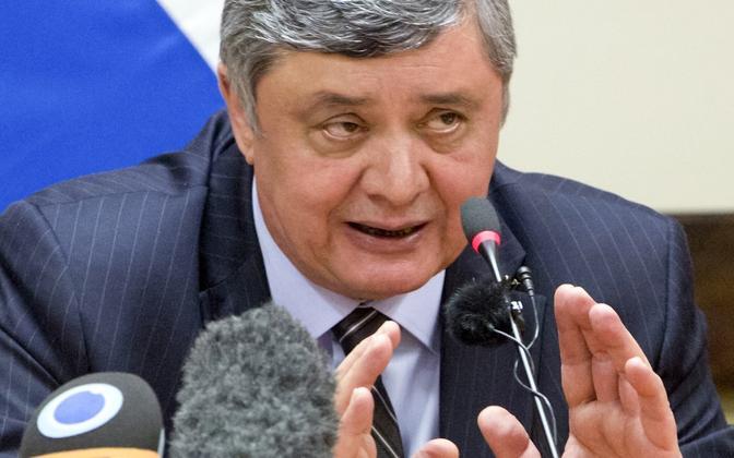 Venemaa presidendi Vladimir Putini eriesindaja Afganistani küsimustes Zamir Kabulov.