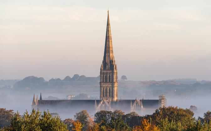 Salisbury katedraal.