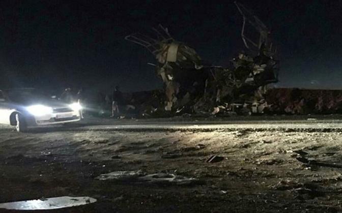 Iraani uudisteagentuuri fars poolt jagatud foto sündmuskohalt.