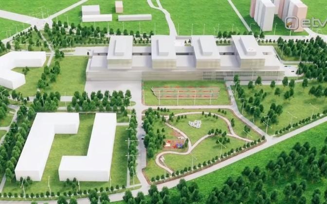 Planeeritav Tallinna haigla.