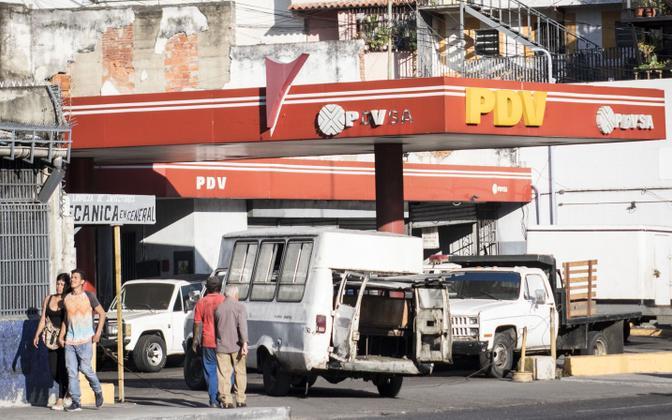 USA on kehtestanud sanktsioonid ka Venezuela naftakompaniile PDVSA.