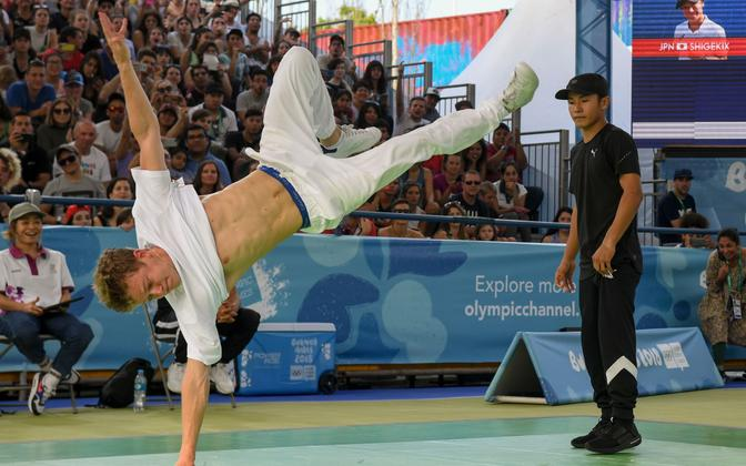 Breiktants noorte olümpiamängudel