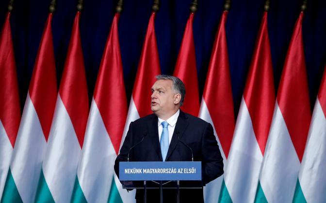 Ungari peaminister ja erakonna Fidesz Viktor Orban.