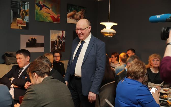 EKRE valimispidu kohvik Wabaduses, Mart Helme