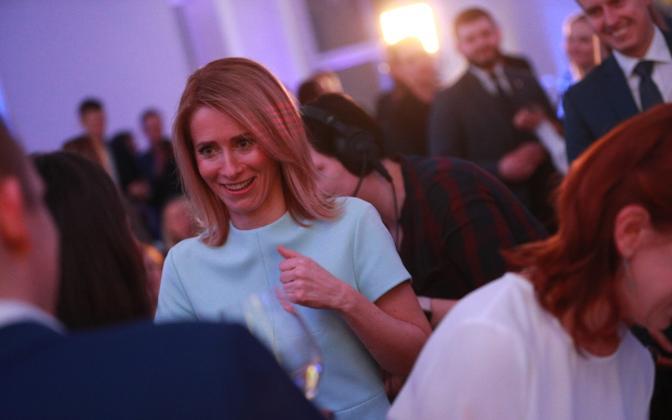 Reform Party chairwoman and likely next prime minister Kaja Kallas.